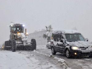 Ereğlide Kar Yağışı İçin Tüm Tedbirler Alındı