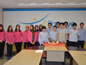 Teogda 5 Türkiye Birincisi Merve Eğitim Kurumlarından