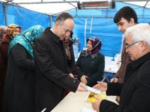 Başkan Saygılıdan Bayırbucak Türkmenlerine Destek Çağrısı