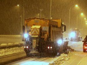 Kahramanmaraşta Kar Yağışı Ulaşımı Olumsuz Etkiliyor