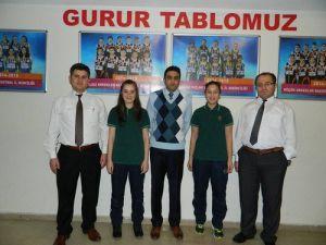 Özel Ergin Koleji Teogda 2 Türkiye Birincisi Çıkardı