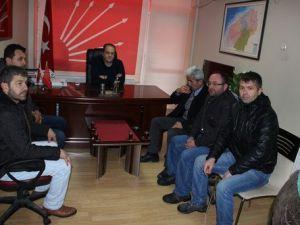 Köy Dolmuşçuları CHPden Kendilerine Destek İstedi