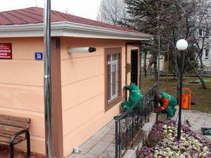 Çankayada Muhtarlık Binalarında Yenileme Sürüyor