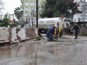 ASKİnin Yatırımları Su Taşkınlarını Önledi