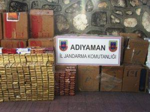 Kahtada 30 Bin Paket Kaçak Sigara Ele Geçirildi
