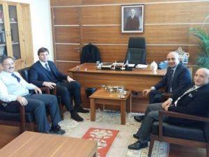 Kayserispor ESKİ Teknik Direktörü ve Menajerinden Özhasekiye Ziyaret