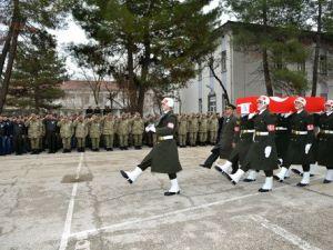 Şehit Uzman Çavuş Ali Şahin İçin Tören Düzenlendi