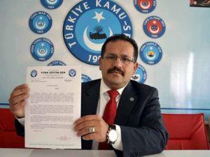 Türk Eğitim-Senden Milli Eğitim İdarecilerine Karne
