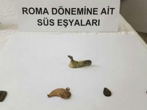 Roma Dönemine Ait Tarihi Eser Ele Geçirildi