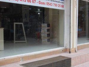 Nusaybinde Polis Zırhlı Aracına Roketli Saldırıda Kasap Dükkânı İsabet Aldı