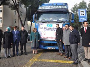 Aydınlı Öğrenciler ve Öğretmenlerden Bayırbucak Türkmenlerine Yardım