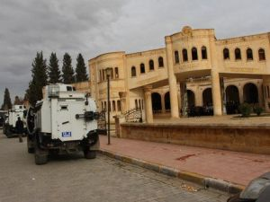 Nusaybinde Botan Halkına Destek Açıklamasında 2 Kişi Gözaltına Alındı