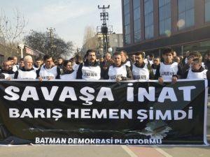 Demokrasi Platformundan 2 Günlük Barış Nöbeti