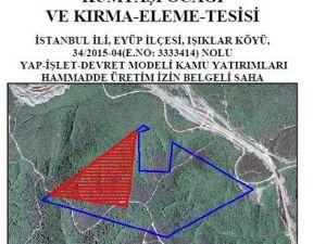 3. Havalimanı İçin 2 Orman Arazisine Kum Ocağı Kurulacak