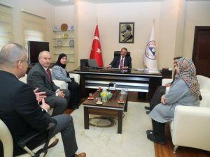 Bahreyn Krallığı ile ERÜ Arasında İşbirliği Görüşmesi Yapıldı