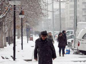Kayseride Hava Sıcaklığı Eksi 20 Dereceye Düşmesi Bekleniyor