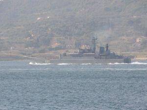 Çanakkale Boğazından İki Rus Savaş Gemisi Geçti