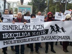 İzmir Polisi Mülteciler İçin Yürümek İsteyenlere İzin Vermedi