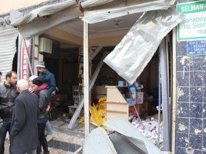 Nusaybinde Polis Aracına Bombalı Saldırı