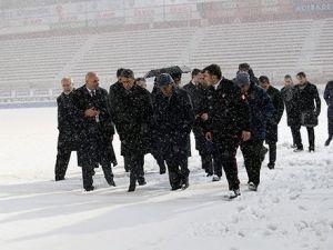 Trabzonspor – Beşiktaş Maçı Kara Takıldı