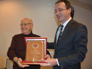 Antalya Barosu 2015 Yılı Uğur Mumcu Hukuk Özel Ödülü, Turgut Kazana Verildi