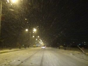 Elazığda Kar Yağışı Etkili Oluyor