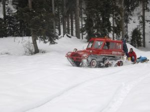 Karda Mahsur Kalan Köylüyü Kardoff Kurtardı
