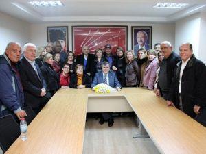 CHP İl Başkanı Barutu Duygulandıran Ziyaret