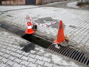 Hırsızların Yeni Hedefi Yağmursuyu Izgaraları