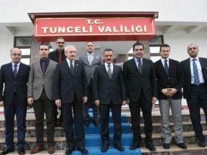 Kılıçdaroğlu, Tunceli Valiliğini Ziyaret Etti