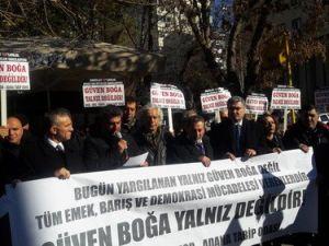 Hırsızlığa, Yolsuzluğa Hayır Eylemine Katılan STK Temsilcileri Yargılanıyor