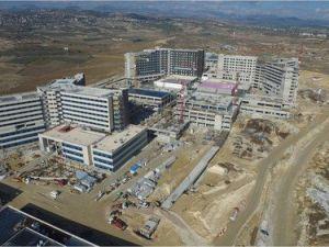 Çamsarı: Şehir Hastanesinin Yüzde 72si Tamamlandı