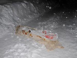 Yüksekovada Battaniyeye Sarılı Erkek Cesedi Bulundu