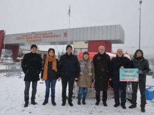 Umut Nöbetini İstanbul Eczacılar Odası Devraldı