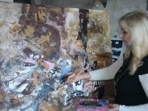 Rus Ressam Larissa Belima: Sanatçılar İçin Türkiye Bir Cennet