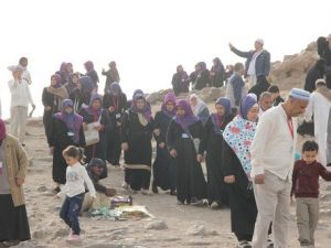 Kutsal Topraklara Giden Roman Vatandaşların Sevinç Gözyaşları