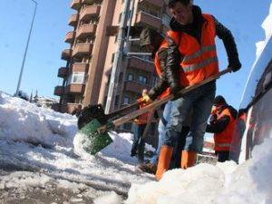 Trabzonda 103 Mahallenin Yolu Kapalı