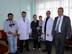 Ameliyat İçin Ankaradan Çoruma Geldi