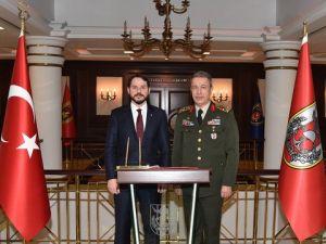 Enerji Bakanı Berat Albayrak, Genelkurmayı Ziyaret Etti