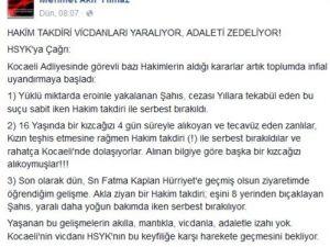 Ak Partili Vekil: Hakim Takdiri Vicdanları Yaralıyor, Adaleti Zedeliyor