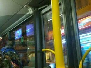 Otobüsün İnme Butonuna Pet Şişeli Önlem