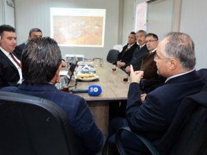 Prof. Dr. Gül ve Başkan Uludağ Yeni Yerleşke İçin Bir Araya Geldi