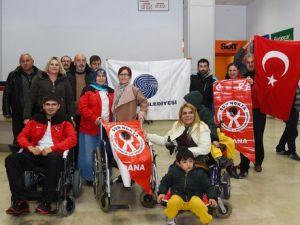 Olimpiyatlara Katılacak Engelli Sporcuya Başkan Karalardan Sürpriz Hediye