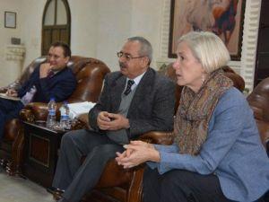 ABD Adana Başkonsolosu, Nusaybin Belediyesini Ziyaret Etti