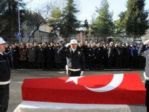 Polis Memurunun Cenazesi Trabzona Gönderildi