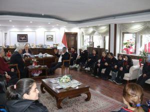 Tbesf Heyetinden Başkan Salmana Ziyaret