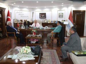 KMBBden Başkan Salmana Ziyaret