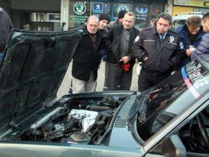 Şahine BMW Motoru Taktı, 240 Yapınca Yakalandı