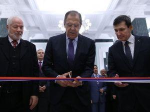 Rusya Dışişleri Bakanı Lavrov, Türkmenistanda