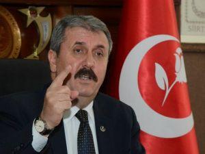 Destici: Hükümet, Bayırbucak Türkmenlerini Mutlaka O Masaya Oturtmalı